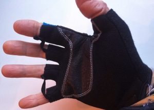KV+ finest Nordic Walking Gloves - Palm of hand view