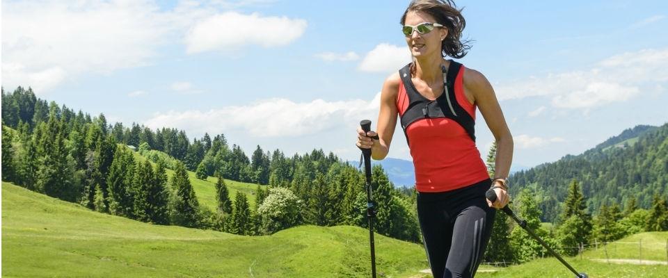 Nordic Walking Benefits Burns Up To 46 More Calories Than Walking