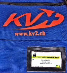 Bag KV+ for Nordic Walking poles & kit