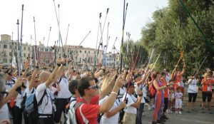 Nordic Walking history - Venice 2015 event